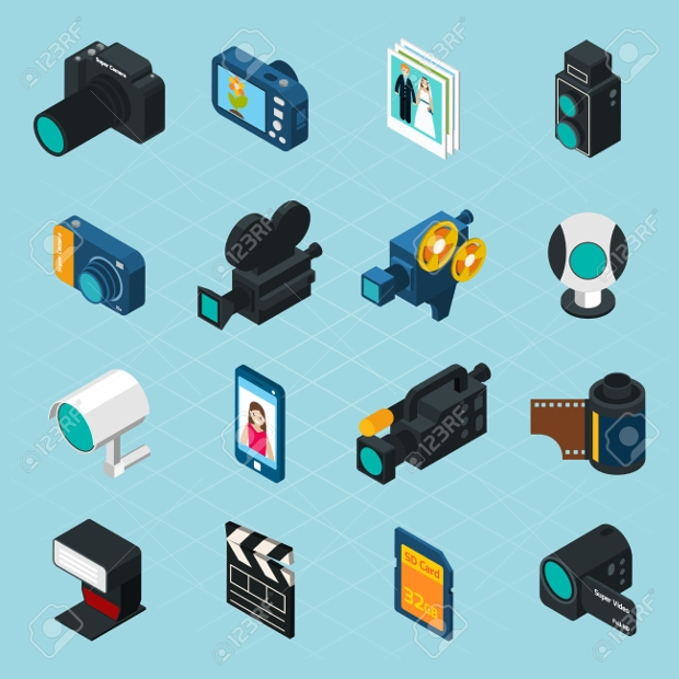 Video Camera Icons