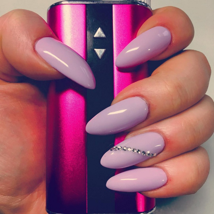 Pastel Purple Stiletto Nails - 41+ Stiletto Nail Art Designs, Ideas Design  Trends - - Light Purple Nail Designs Graham Reid