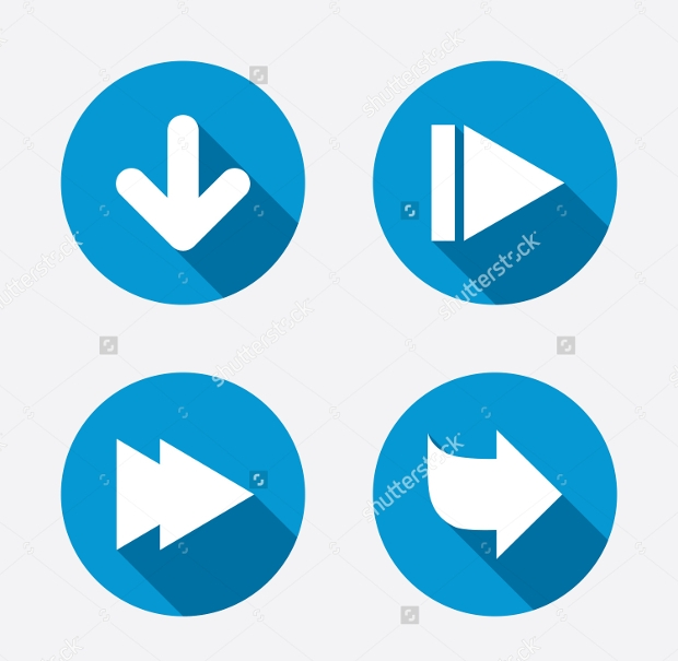 Navigation Arrow Icons