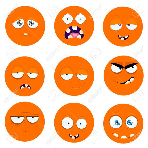 round emoji icons