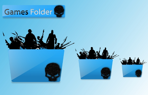 Games Folder Icon Designs