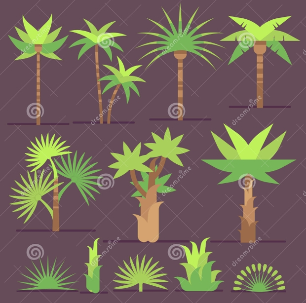 Palm Tree Icons
