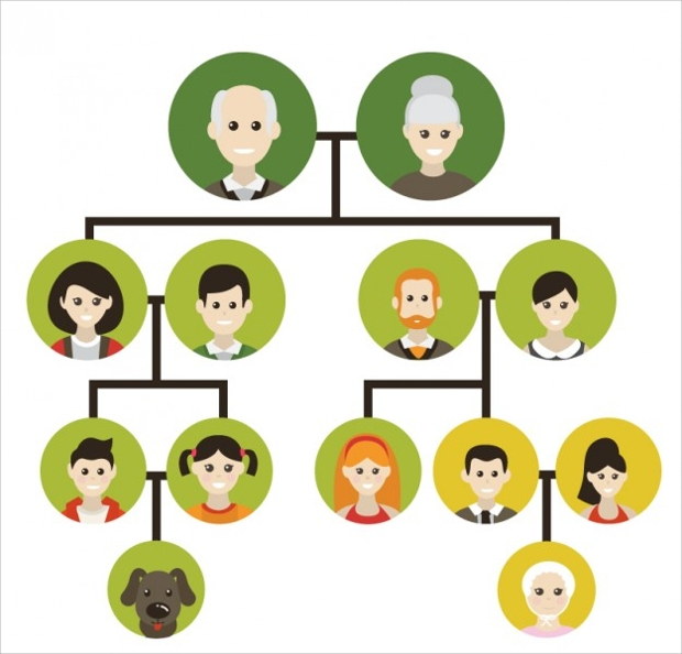 Family Tree Icons