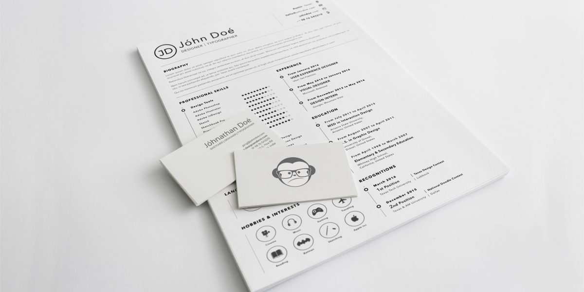 top 10 creative resume templates