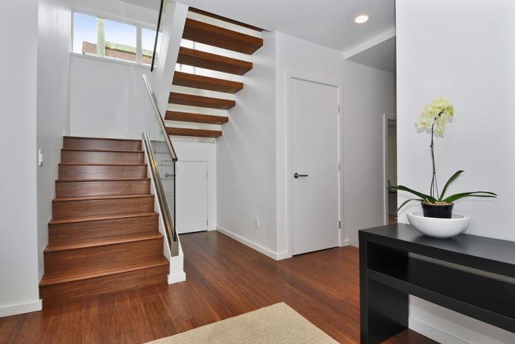 modern under stair design