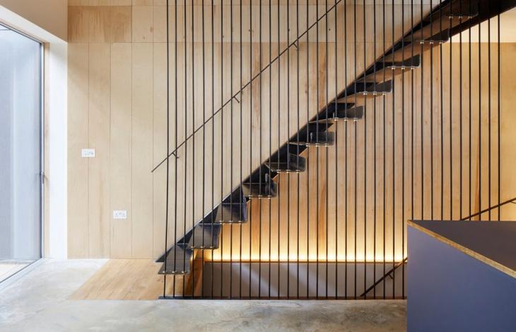 residential metal stairs
