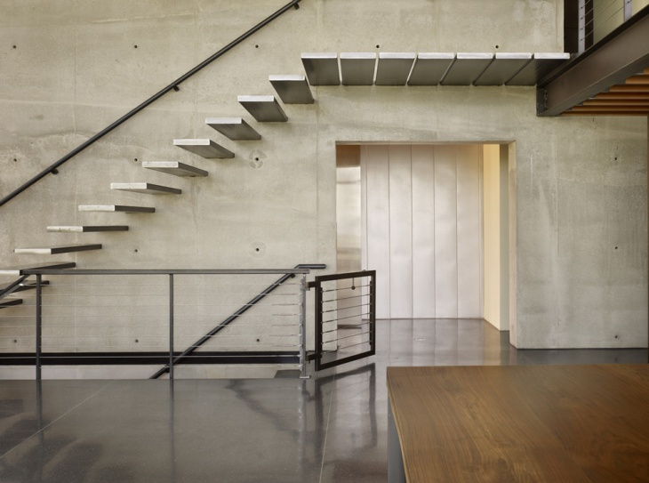 Industrial Steel Stair Design