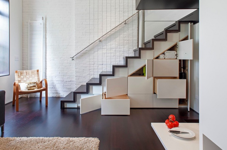 loft apartment stairs