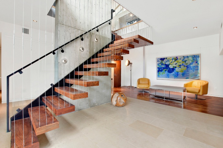 open riser stair design