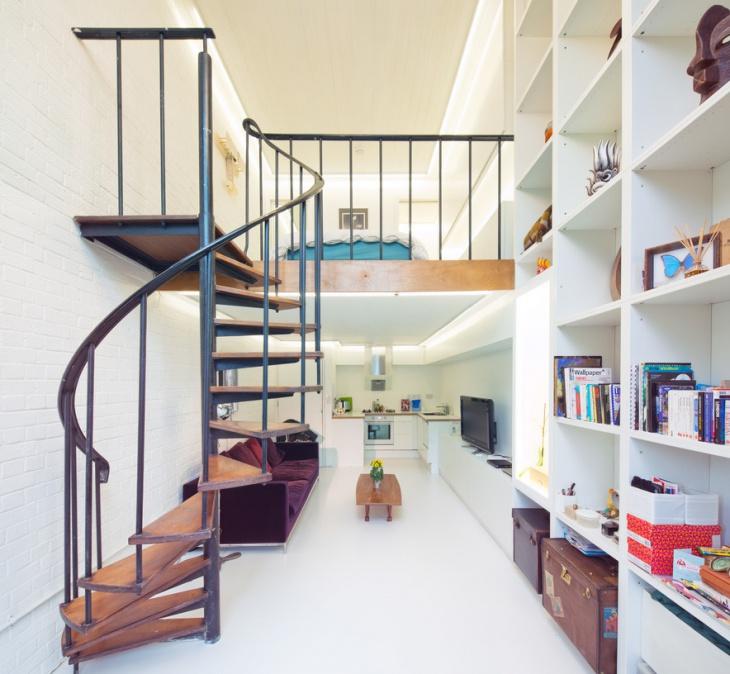 contemporary spiral staircase design