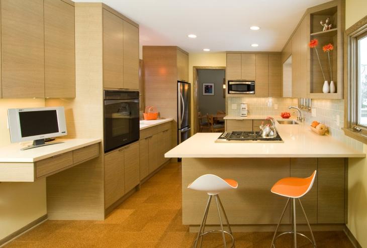 modern small kitchen interior design
