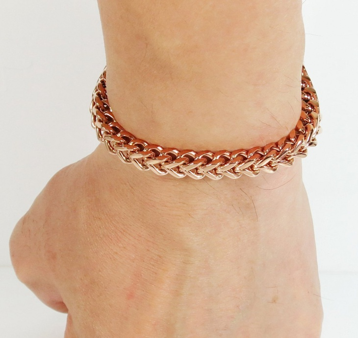 mens rose gold jewelry design