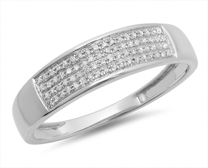 mens white gold hip hop jewelry
