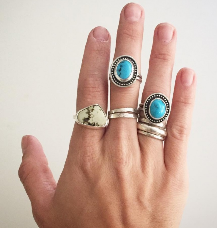 vintage mens turquoise jewelry