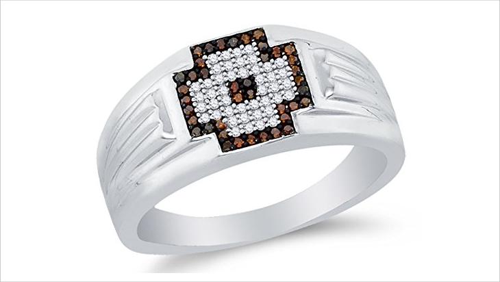 mens chocolate diamond jewelry