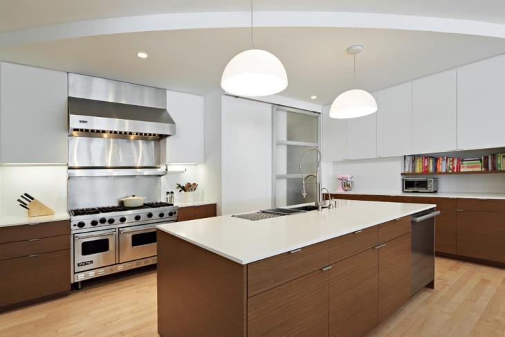modern apartment kitchen interior design