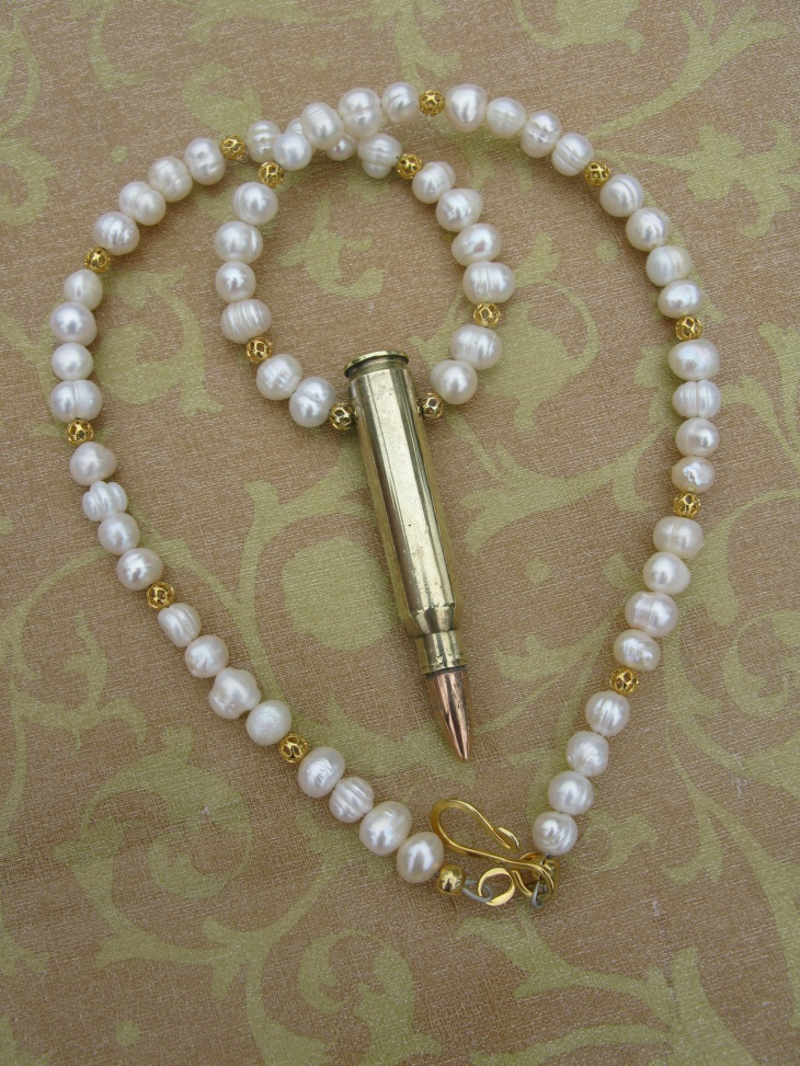 mens white pearl jewelry