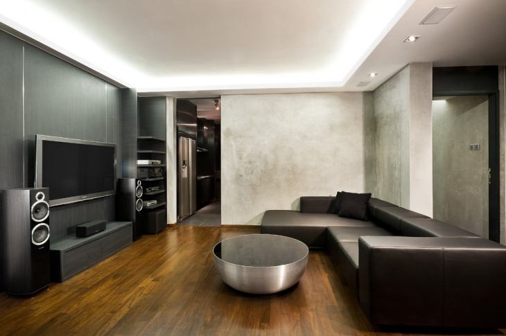 modern industrial apartment design