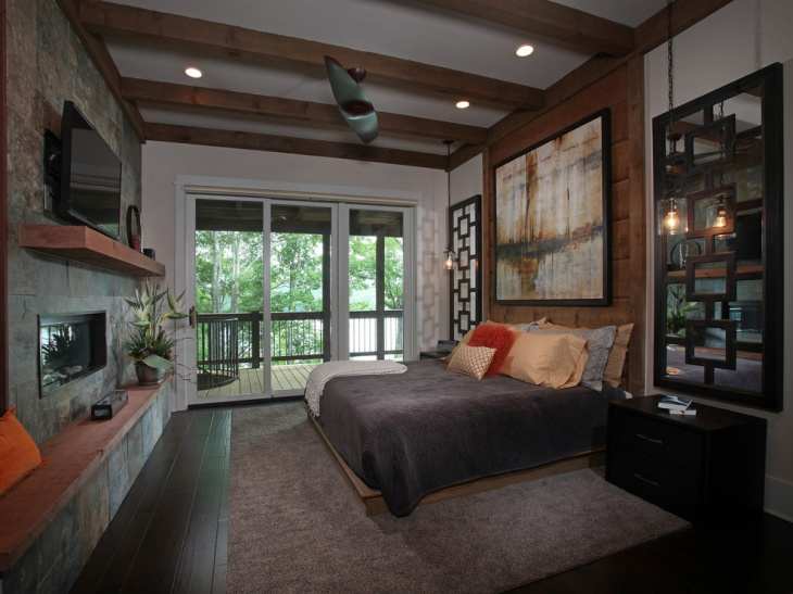 modern rustic home interior design