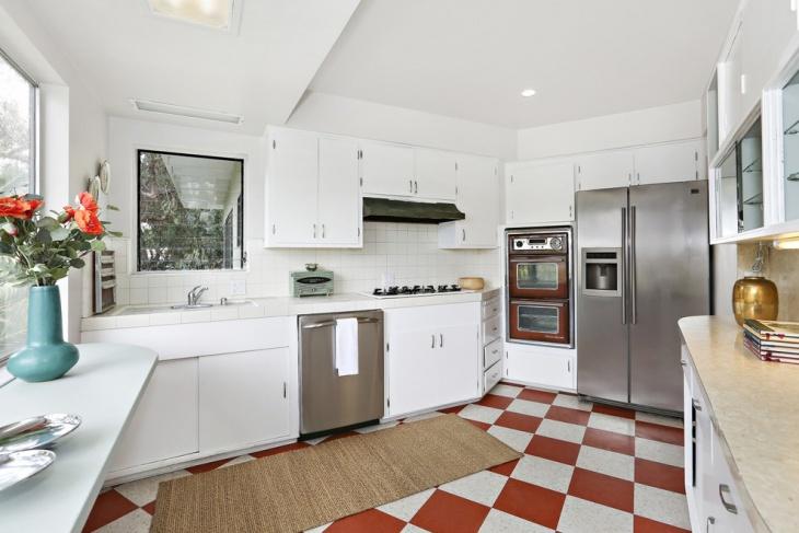 Mid Century Modern Kitchen Interior Design