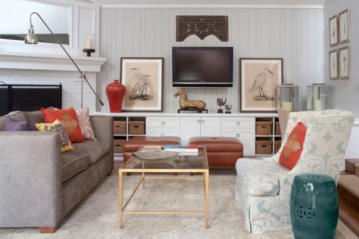 modern country cottage interior design