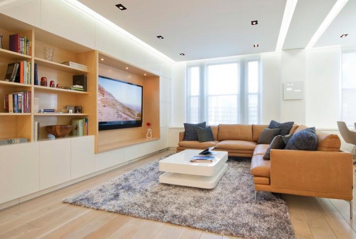 Modern Apartment Living Room Interior Design