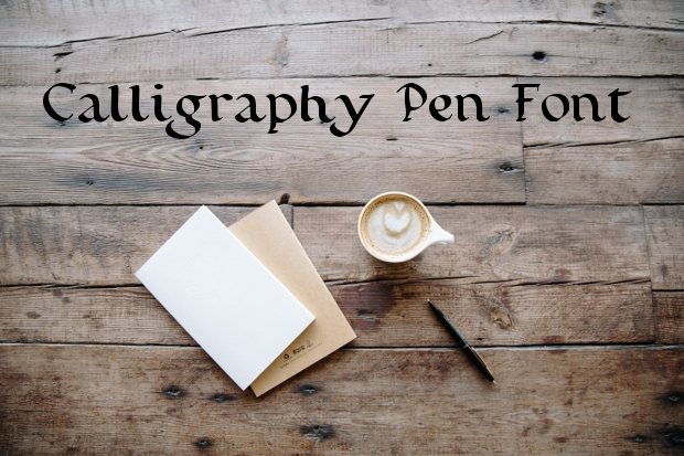Calligraphy Pen Fonts
