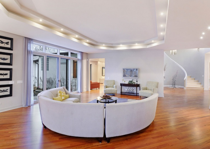 modern luxury living room interior
