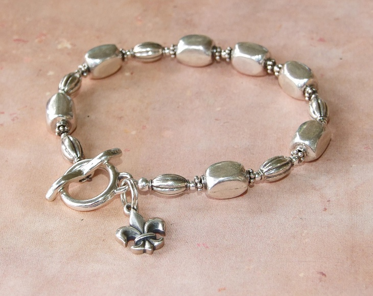 Handmade Silver Bracelet For Men