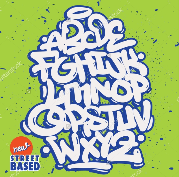 Graffiti Bubble Font