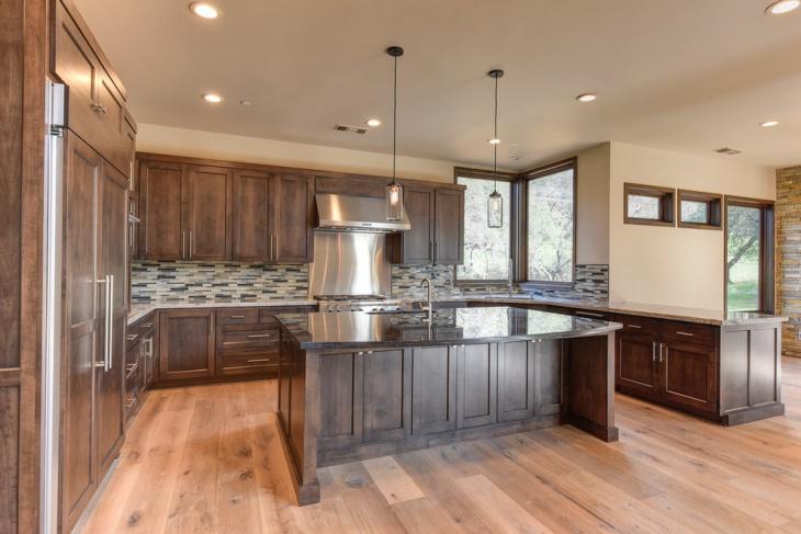 modern masculine kitchen interior design