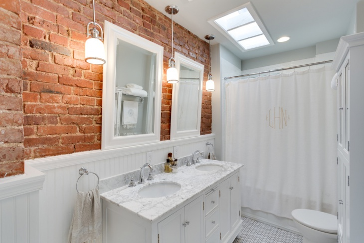 small bathroom lighting design