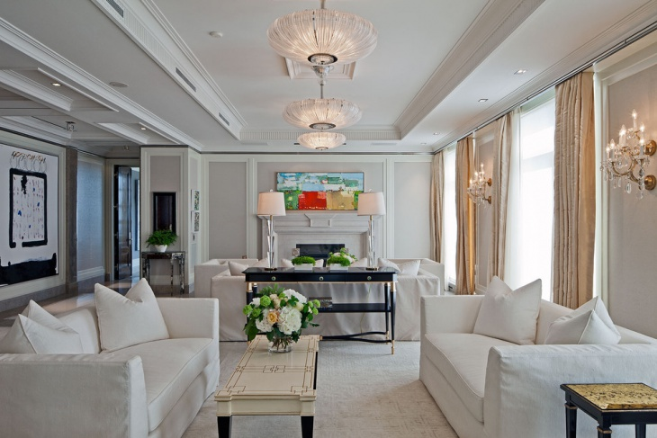 living room ceiling lighting design