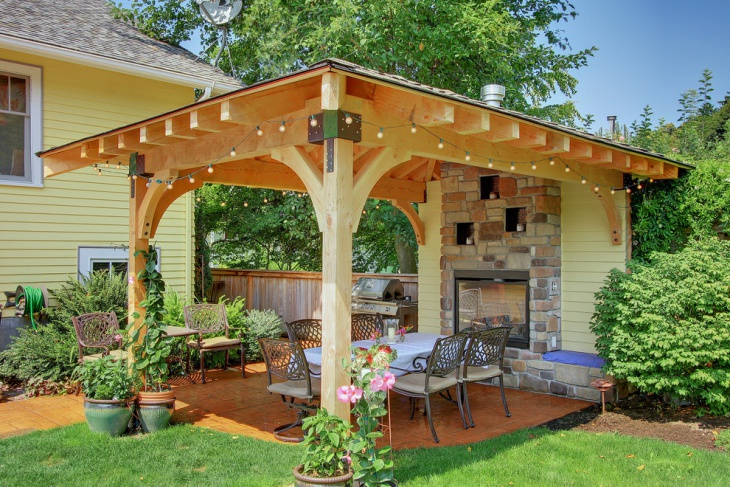 covered patio lighting design