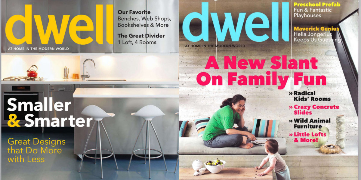 dwell magazine covers