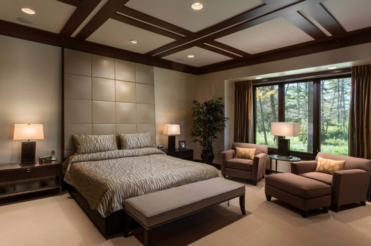 bedroom recessed lighting design