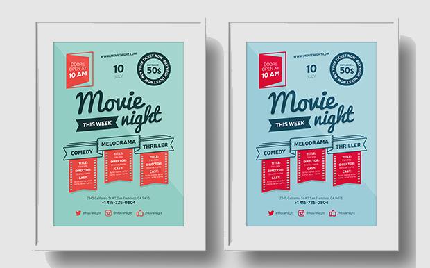 Minimalist Movie Poster Design