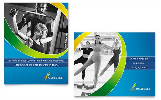 Sports Club Poster Design