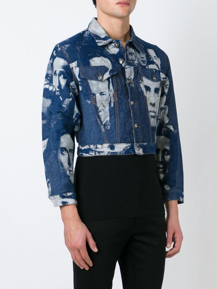 designer blue jean jacket for men