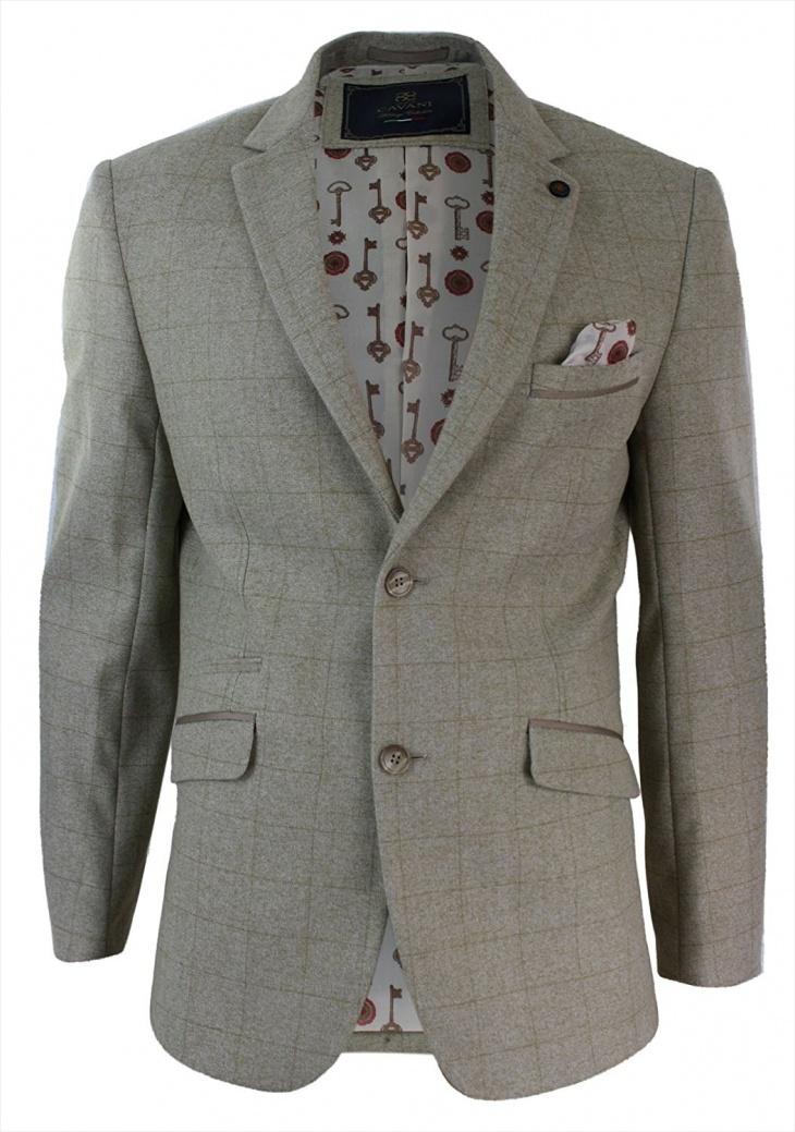 vintage tweed jacket for men