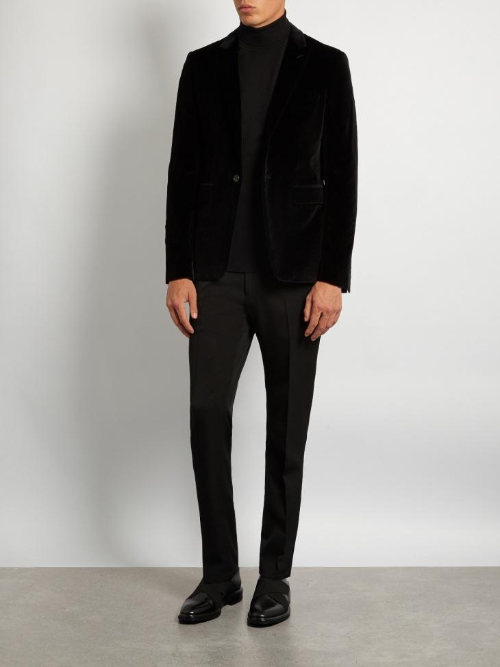 burberry mens formal velvet jacket
