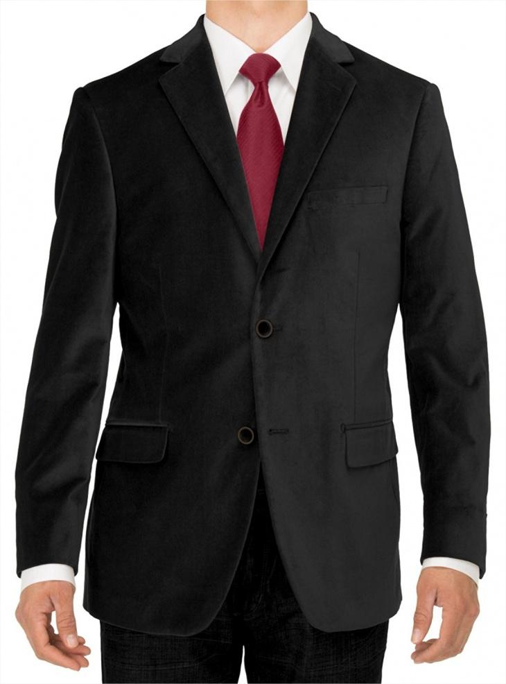 velvet suit jacket for men