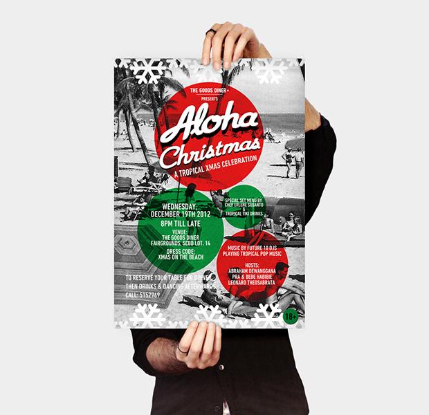 Christmas Event Poster Design