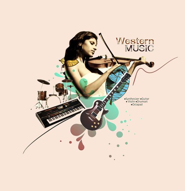 Music School Poster Design