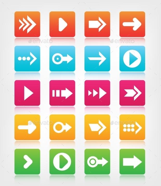 arrow navigation buttons