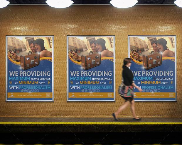 Modern Travel Poster Design