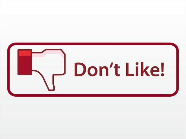facebook dislike buttons