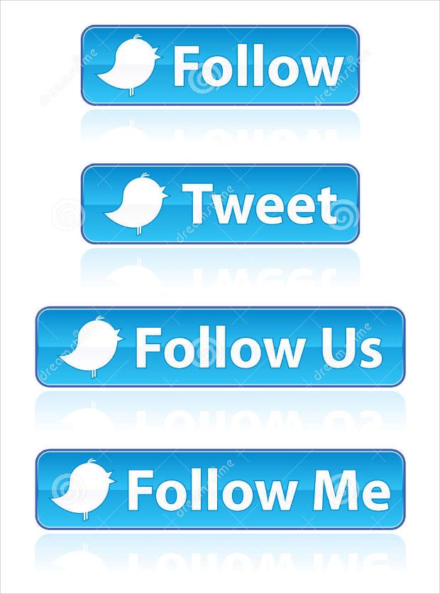 twitter follow buttons
