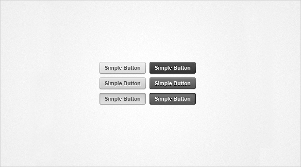 simple grey web buttons