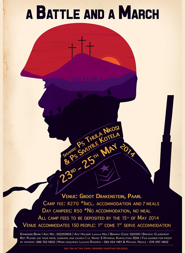 Church Adventist Poster Design